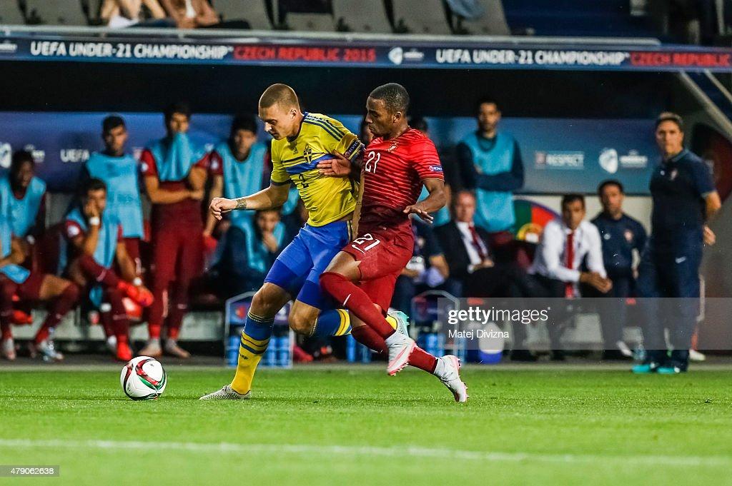 Sweden v Portugal  - UEFA Under21 European Championship 2015 Final : News Photo
