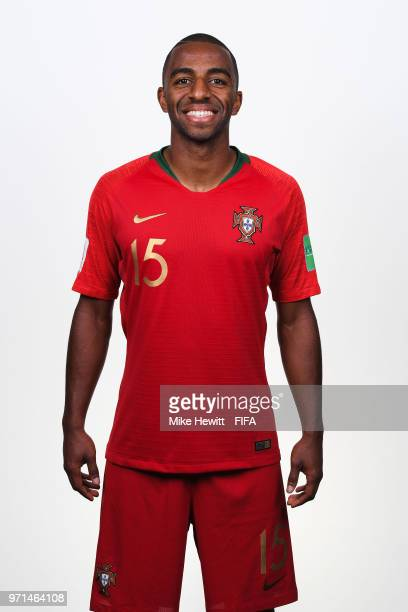 Ricardo of Portugal poses for a portrait during the official FIFA World Cup 2018 portrait session at the Saturn training base on June 10 2018 in...