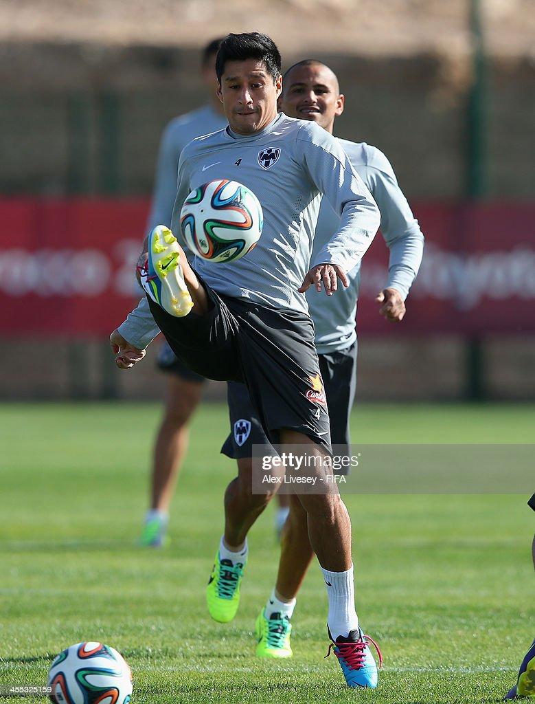 CF Monterrey Training Session - FIFA Club World Cup Quarter Final