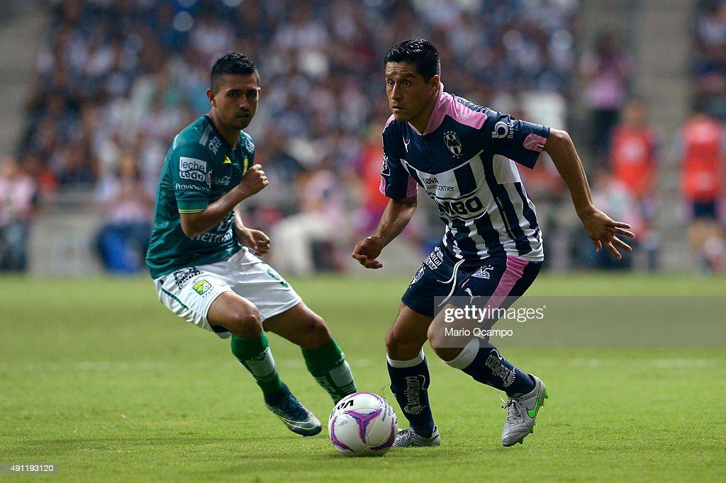 Monterrey v Leon - Apertura 2015 Liga MX
