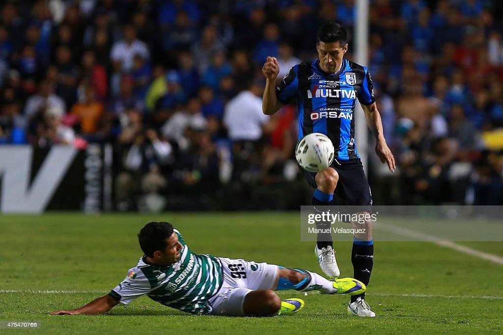 Queretaro v Santos Laguna - Liga MX 2015