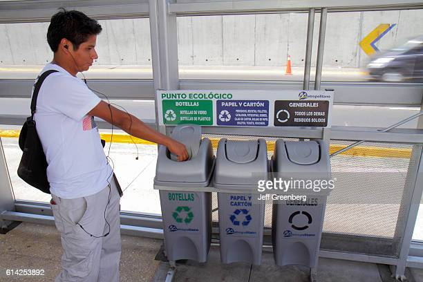 Ricardo Palma Estacion station recycling station