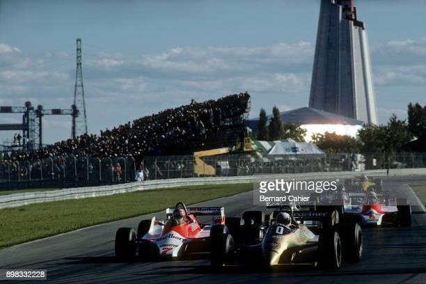 Ricardo Patrese John WatsonAlain Prost ArrowsFord A3 McLarenFord M29B McLarenFord M30 Grand Prix of Canada Circuit Gilles Villeneuve 28 September 1980