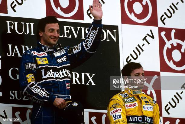 Ricardo Patrese Martin Brundle Grand Prix of Japan Suzuka Circuit 25 October 1992
