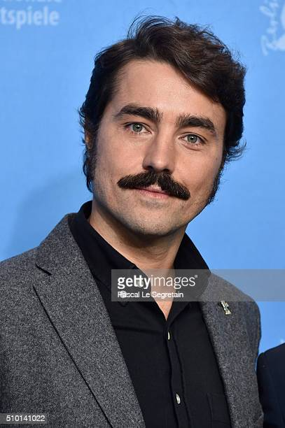 Ricardo Pereira attends the 'Letters from War' photo call during the 66th Berlinale International Film Festival Berlin at Grand Hyatt Hotel on...