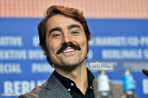 Ricardo Pereira is seen at the 'Letters from War' press conference during the 66th Berlinale International Film Festival Berlin at Grand Hyatt Hotel...