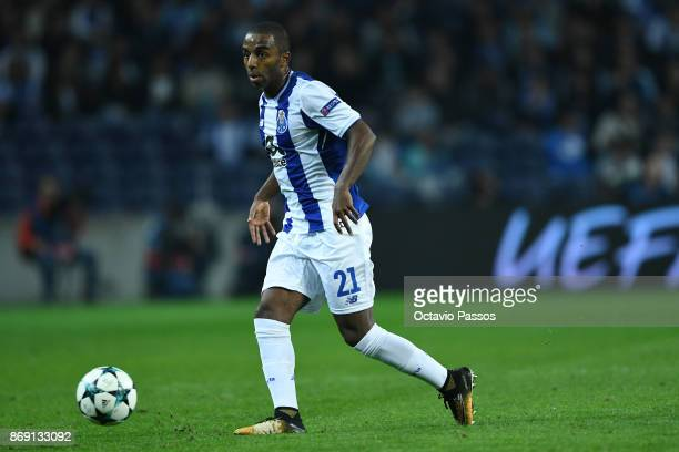 Ricardo Pereira of FC Porto in action during the UEFA Champions League group G match between FC Porto and RB Leipzig at Estadio do Dragao on November...