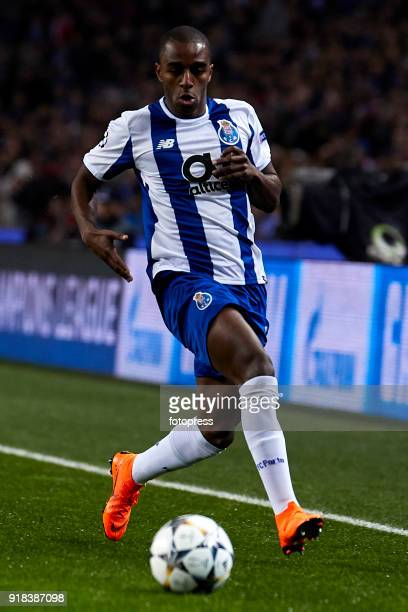 Ricardo Pereira of FC Porto in action during the UEFA Champions League Round of 16 First Leg match between FC Porto and Liverpool FC at Estadio do...