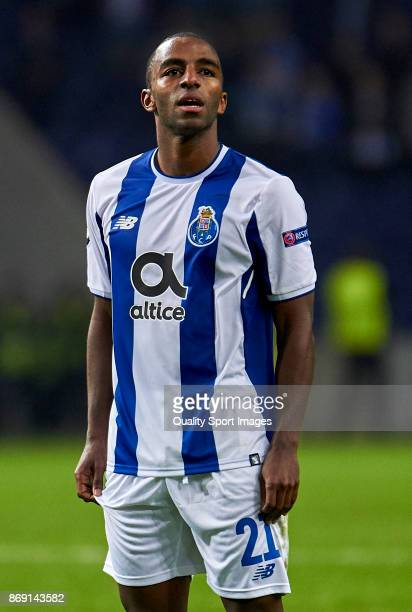Ricardo Pereira of FC Porto looks on during the UEFA Champions League group G match between FC Porto and RB Leipzig at Estadio do Dragao on November...