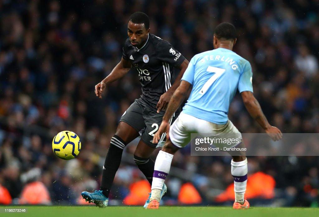 Manchester City v Leicester City FC - Premier League : ニュース写真
