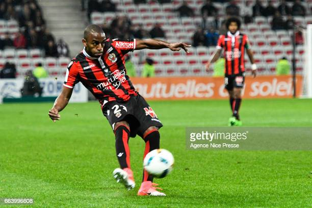 Ricardo Pereira of Nice during the French Ligue 1 match between Nice and Bordeaux at Allianz Rivera on April 2 2017 in Nice France