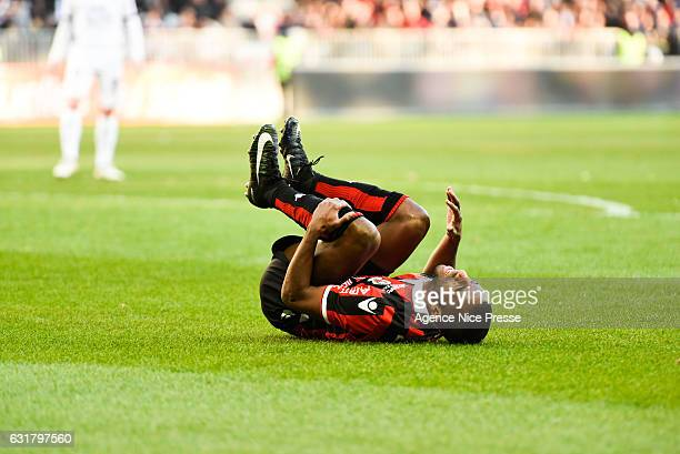 Ricardo Pereira of Nice during the Ligue 1 match between OGC Nice and Fc Metz at Stade Municipal du Ray on January 15 2017 in Nice France