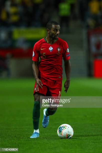 Ricardo Pereira of Portugal and Leicester City during the UEFA Euro 2020 Qualifier between Portugal and Lithuania on November 14 2019 in Faro Portugal