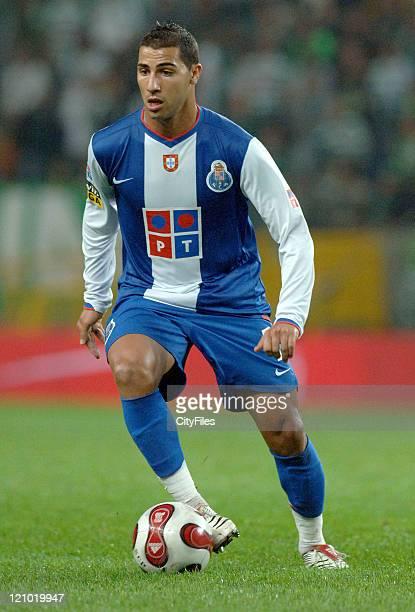 Ricardo Quaresma during Portuguese Bwin League Porto v Sporting Lisbon October 22 2006 at Alvalade XXI Stadium in Lisbon Portugal