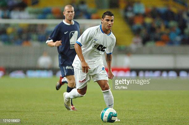Ricardo Quaresma during the 2007 All Stars Lisbon game at Alvalade XXI Stadium Lisbon Portugal on June 9 2007 Some of the best football players of...