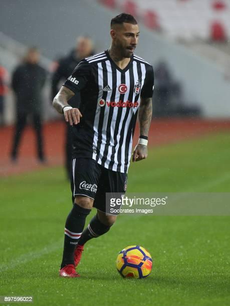Ricardo Quaresma of Besiktas during the Turkish Super lig match between Sivasspor v Besiktas at the Yeni Sivas 4 Eylil Stadium on December 23 2017 in...