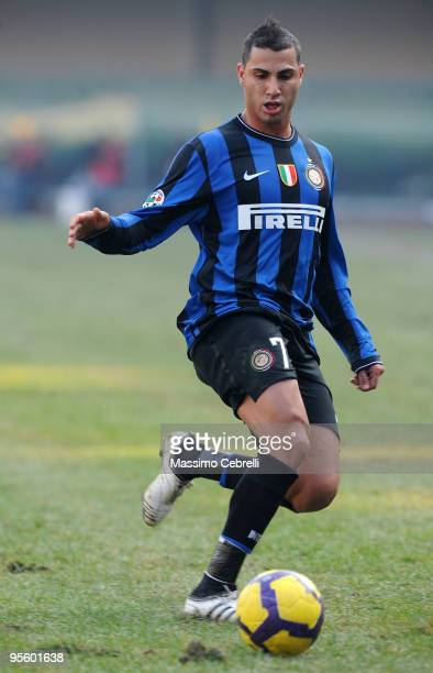 Ricardo Quaresma of FC Inter Milan in action during the Serie A match between AC Chievo Verona and FC Inter Milan at Stadio Marc'Antonio Bentegodi on...