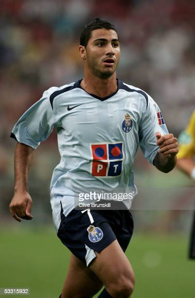 Ricardo Quaresma of Porto during the LG Amsterdam Tournament friendly match between Boca Juniors and FC Porto at The Amsterdam Arena on July 29, 2005...
