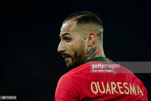 Ricardo Quaresma of Portugal during the International Friendly match between Egypt v Portugal at the Letzigrund Stadium on March 23 2018 in Zurich...