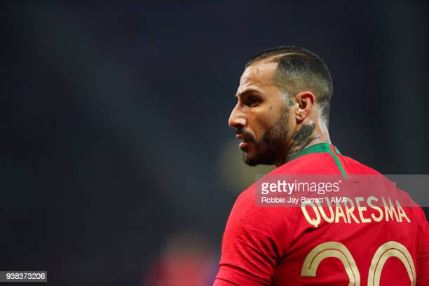 Ricardo Quaresma of Portugal during the International Friendly match between Portugal and Holland at Stade de Geneve on March 26 2018 in Geneva...