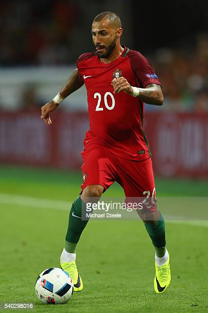 Ricardo Quaresma of Portugal during the UEFA EURO 2016 Group F match between Portugal and Iceland at Stade GeoffroyGuichard on June 14 2016 in...