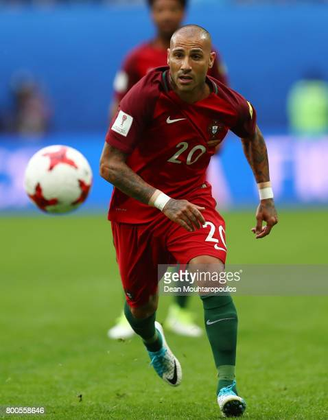 Ricardo Quaresma of Portugal in action during the FIFA Confederations Cup Russia 2017 Group A match between New Zealand and Portugal at Saint...