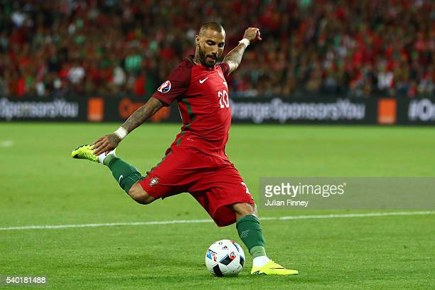 Ricardo Quaresma of Portugal in action during the UEFA EURO 2016 Group F match between Portugal and Iceland at Stade GeoffroyGuichard on June 14 2016...