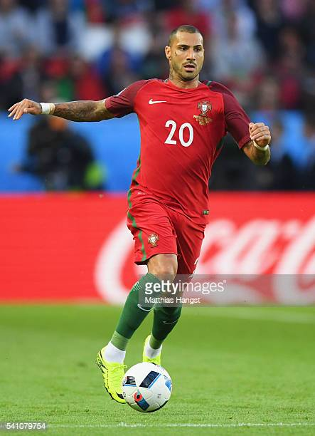 Ricardo Quaresma of Portugal in action during the UEFA EURO 2016 Group F match between Portugal and Austria at Parc des Princes on June 18 2016 in...
