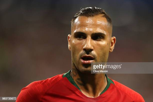 Ricardo Quaresma of Portugal looks on during the 2018 FIFA World Cup Russia group B match between Iran and Portugal at Mordovia Arena on June 25 2018...