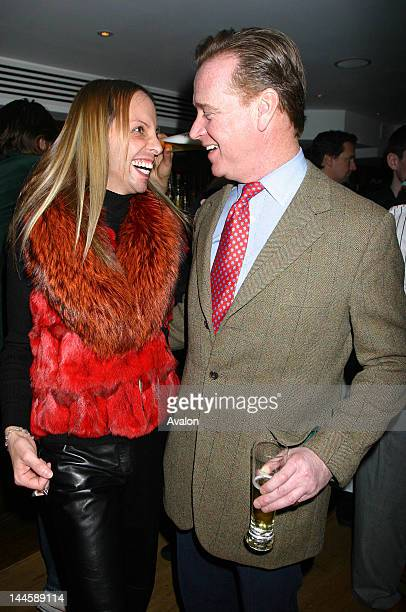 Ricardo Ribeiro and James Hewitt The celebrity studded opening of George Bar and restaurant 104 High Street Esher 12th January 2006 10135