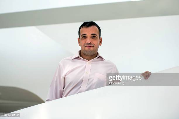Ricardo Rittes chief financial officer of Ambev SA stands for a photograph following an interview in Sao Paulo Brazil on Thursday April 5 2018...