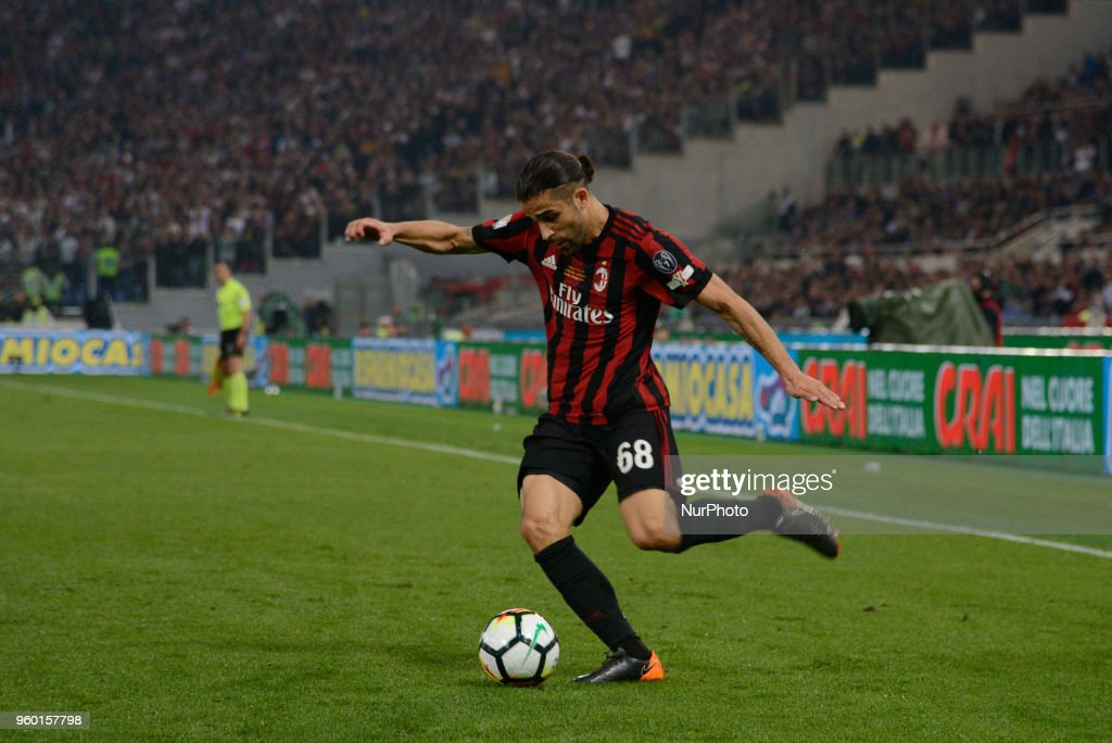Ricardo Rodriguez during the Tim Cup Final football match F.C. Juventus vs A.C. Milan at the Olympic Stadium in Rome, on May 09, 2018