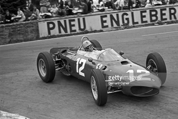 Ricardo Rodriguez Ferrari 156 Grand Prix of Belgium Circuit de SpaFrancorchamps 17 June 1962