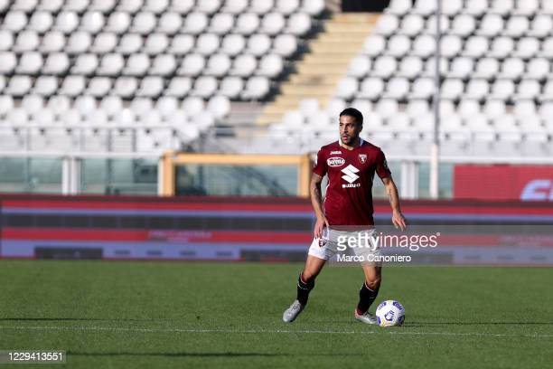 Ricardo Rodriguez of Torino FC in action during the Serie A match between Torino Fc and Ss Lazio. Ss Lazio wins 4-3 over Torino Fc.