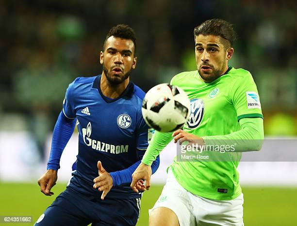 Ricardo Rodriguez of VfL Wolfsburg in action during the Bundesliga match between VfL Wolfsburg and FC Schalke 04 at Volkswagen Arena on November 19...