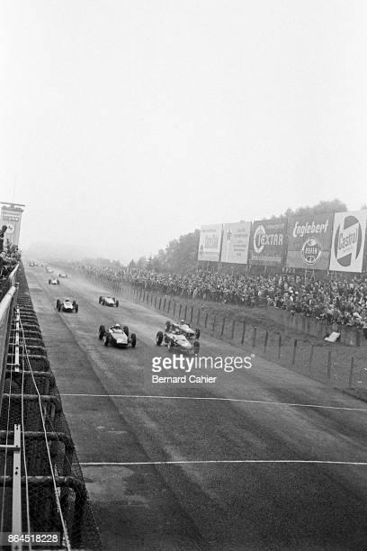Ricardo Rodriguez Richie Ginther Lorenzo Bandini BRM P57 Ferrari 156 Grand Prix of Germany Nurburgring 05 August 1962