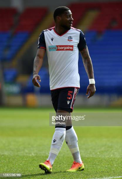 Ricardo Santos of Bolton Wanderers during the Sky Bet League 2 match between Bolton Wanderers and Harrogate Town at the Reebok Stadium, Bolton,...