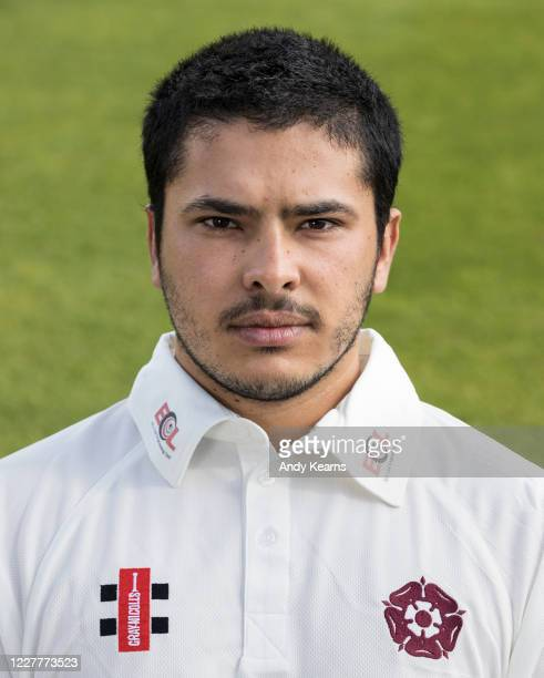 Ricardo Vasconcelos of Northamptonshire during the Northamptonshire County Cricket Club Photo Shoot at The County Ground on July 10 2020 in...
