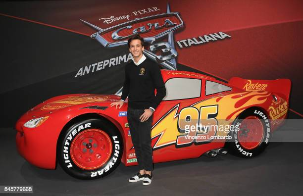 Riccardo Agostini attends Cars 3 photocall in Milan on September 11 2017 in Milan Italy
