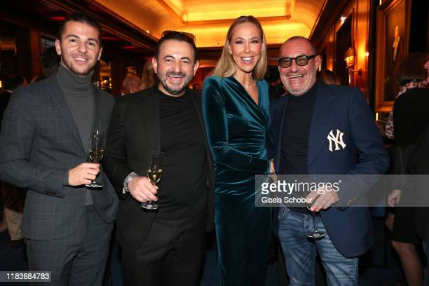 Riccardo Basile Alex Urseanu Sylvia Walker and Micky Rosen Roomers during the Tribute To Bambi at Casino BadenBaden on November 20 2019 in BadenBaden...