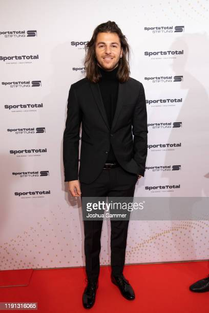 Riccardo Basile attends the SportsTotal Christmas Party and foundation gala at Flora Koeln on December 01 2019 in Cologne Germany