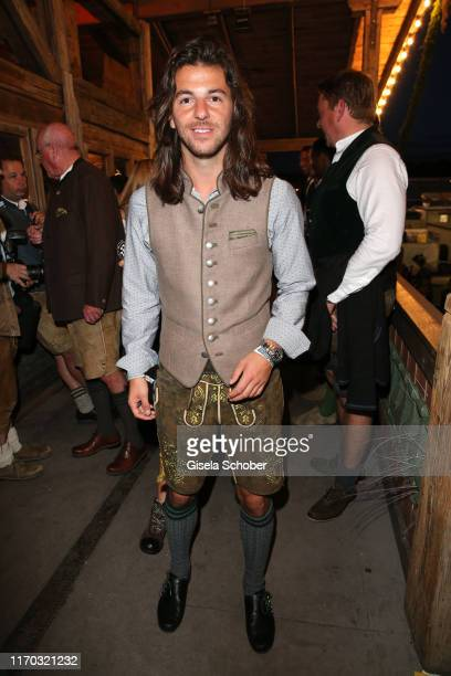 Riccardo Basile during the Almauftrieb as part of the Oktoberfest 2019 at Kaefer Tent at Theresienwiese on September 22 2019 in Munich Germany