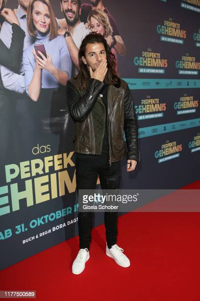 Riccardo Basile during the premiere of Das perfekte Geheimnis at Mathaeser Filmpalast on October 21 2019 in Munich Germany