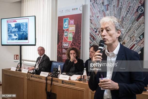 Riccardo Luna Director Agi Italian Journalistic Agency during the Press conference to the foreign press On the occasion of the 50th anniversary of...