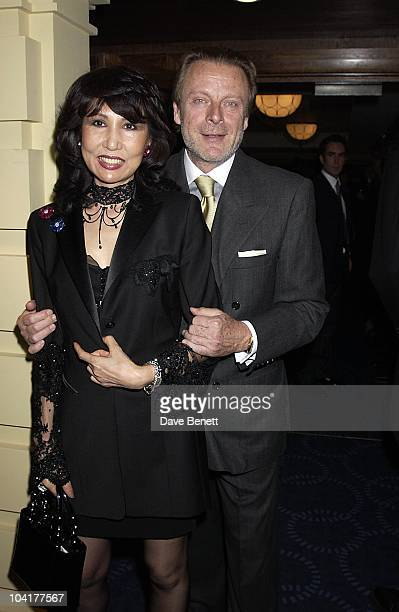 Riccardo Mazzuchelli With New Girlfriend, The Grovesnor House Antiques Fair Opened With A Gala ,in Aid Of Kids Charity, With Its Patron Elizabeth...