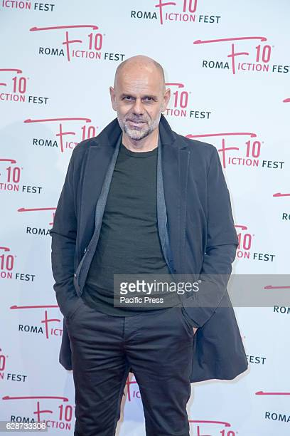 """Riccardo Milani during the Second Day for Roma Fiction Fest 10 The Space Cinema Moderno on the Red Carpet of the movie """"From father to daughter,"""" a..."""
