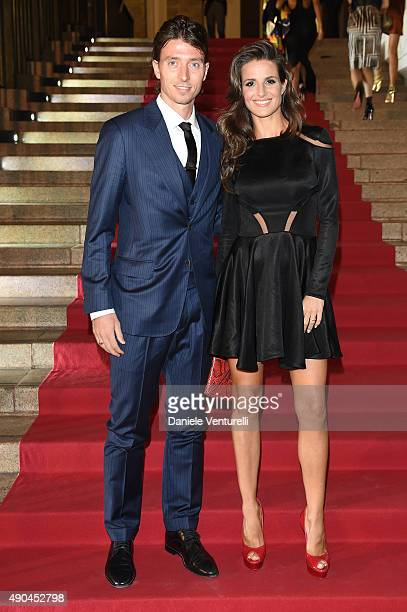 Riccardo Montolivo attends Vogue China 10th Anniversary at Palazzo Reale on September 28 2015 in Milan Italy