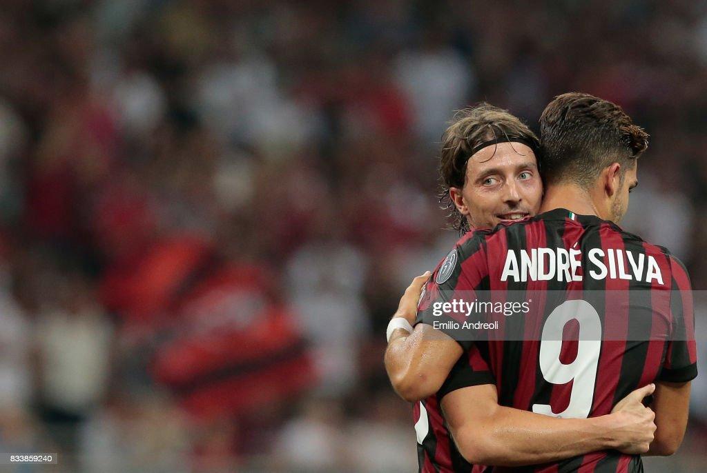 AC Milan v KF Shkendija 79 - UEFA Europa League Qualifying Play-Offs Round: First Leg : News Photo