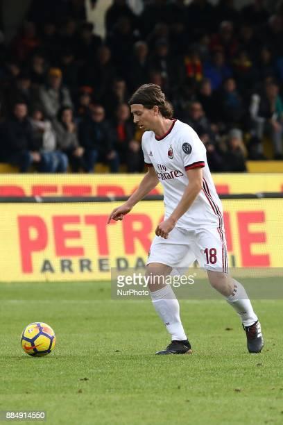 Riccardo Montolivo of Ac Milan during the Serie A match between Benevento Calcio and AC Milan at Stadio Ciro Vigorito on December 03 2017 in...