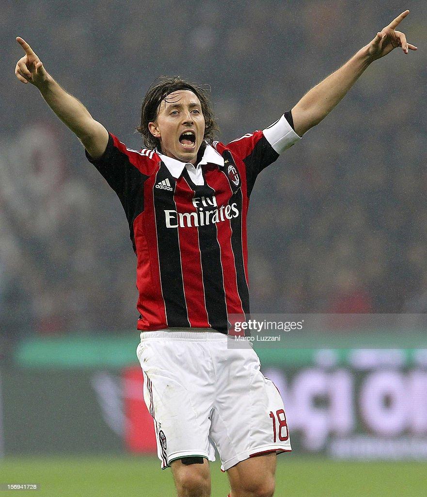 AC Milan v Juventus FC - Serie A : Foto di attualità